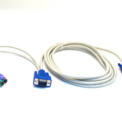15 ft Premium PS/2 VGA Combo KVM Cable